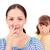 dohányos · lány · fehér · dohányzás · füst · tinédzser - stock fotó © goce