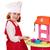 beautiful little girl play cooking stock photo © goce