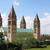 szobor · bazilika · katedrális · Magyarország · égbolt · ablak - stock fotó © goce