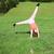 küçük · kız · jimnastik · küçük · Japon · kız - stok fotoğraf © goce