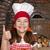 девочку · пиццы · улыбаясь · белый · девушки - Сток-фото © goce