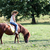 little girl riding pony horse stock photo © goce
