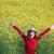 улыбаясь · ребенка · соломенной · шляпе · избирательный · подход · девочку · глядя - Сток-фото © goce