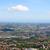 İtalyan · manzara · köy · dağlar · gün · batımı · İtalya - stok fotoğraf © goce