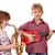 мальчика · девочку · играть · музыку · улыбка · ребенка - Сток-фото © goce