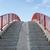 klatka · schodowa · nieba · schody · słońce · Błękitne · niebo · chmury - zdjęcia stock © goce