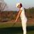 женщину · гольфист · выстрел · области · спорт · зеленый - Сток-фото © goce