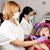 lány · gyermek · fogfájás · fehér · fogorvos · fájdalom - stock fotó © goce