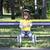 девочку · катание · Открытый · льда · зима - Сток-фото © goce