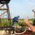 oil worker with thumb up on oilfield stock photo © goce