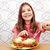 kind · eten · smakelijk · pasta · maaltijd · gelukkig - stockfoto © goce
