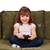 petite · fille · jouer · jeu · vidéo · joli · joie - photo stock © goce