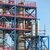 petrochemical plant construction site industry zone stock photo © goce