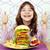 büyük · hamburger · cheeseburger · ekmek · akşam · yemeği - stok fotoğraf © goce
