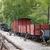 鉄道駅 · 古い · 木製 · ワゴン · 山 · 旅行 - ストックフォト © goce