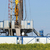 land oil drilling rig with top drive system stock photo © goce