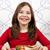 desayuno · carne · de · vacuno · cena · carne · tomate · comida - foto stock © goce