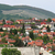 houses on the hill above eger hungary stock photo © goce