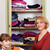 mother and daughter agrees clothes in a closet stock photo © goce
