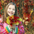 happy little girl holding colorful autumn leaves stock photo © goce