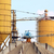 concrete factory with crane industry zone stock photo © goce