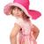 美しい · 女の子 · ビッグ · 帽子 · 子 · 楽しい - ストックフォト © goce