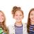 crianças · feliz · smiles · grupo · pequeno · crianças - foto stock © godfer