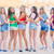 glücklich · Gruppe · Kinder · teens · Strand - stock foto © godfer