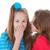 kids whispering secrets stock photo © godfer