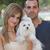 couple with family dog stock photo © godfer