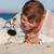 liebevoll · Hund · Eigentümer · Strand · Haustiere · Menschen - stock foto © godfer