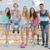vriendschap · groep · tieners · jeugd · kinderen · studenten - stockfoto © godfer