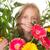 gyerek · virágok · ajándék · anyu · virág · gyerekek - stock fotó © godfer