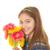 gyermek · köteg · virágok · boldog · virág · gyerekek - stock fotó © godfer