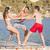 grupo · diverso · adolescentes · férias · férias · verão - foto stock © godfer