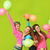 tieners · dansen · verjaardagsfeest · mode · kinderen · groep - stockfoto © godfer