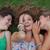 adolescentes · sonrisa · mujeres · noticias - foto stock © godfer