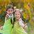 два · молодые · девочек · лицах · Cute - Сток-фото © godfer