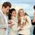 netwerk · mensen · mobiele · telefoons · vrienden · familie · telefoon - stockfoto © godfer