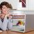 kobieta · pracy · blogging · ministerstwo · spraw · wewnętrznych · biuro · uśmiech - zdjęcia stock © godfer