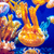 narancs · meduza · tenger · kék · óceán · víz - stock fotó © goinyk