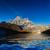 dağ · Nepal · bölge · gökyüzü · ağaç · orman - stok fotoğraf © goinyk