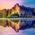 удивительный · путешествия · красивой · закат · отражение · воды - Сток-фото © goinyk