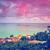 tramonto · Maldive · bella · sunrise · mare · indian - foto d'archivio © goinyk