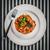 spaghetti · salsa · di · pomodoro · carne · ristorante · palla - foto d'archivio © goinyk