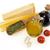 tészta · öntet · hozzávalók · arany · citromsárga · fokhagyma - stock fotó © goir