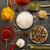 specerijen · variatie · steen · zaad · fotografie · zout - stockfoto © goir