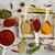 épices · variation · cuillère · semences · photographie · sel - photo stock © goir