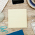 Adhesive note on office table stock photo © goir