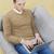 férfi · dolgozik · laptop · kanapé · internet · technológia - stock fotó © goir